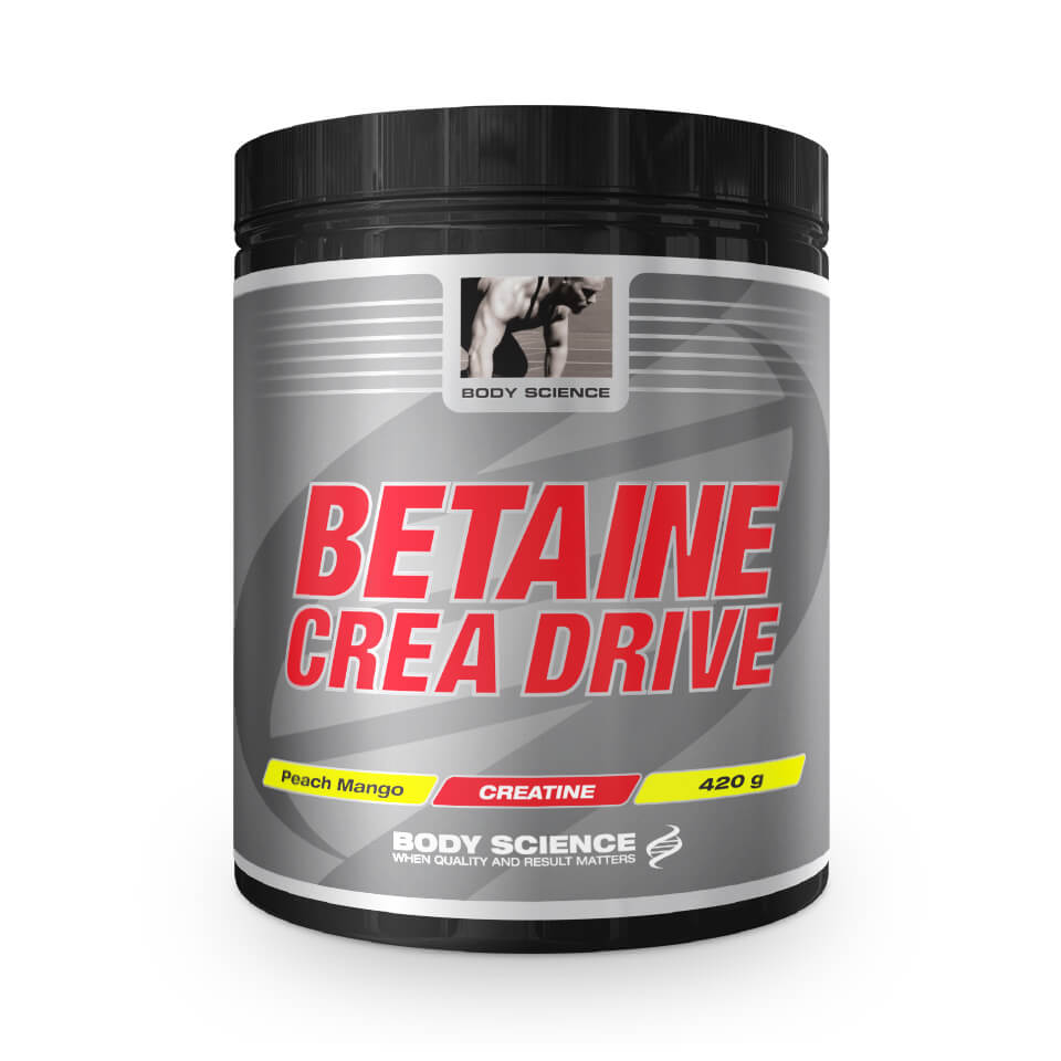 Body Science Betaine Crea Drive 420 gram Peach Mango - Body Science