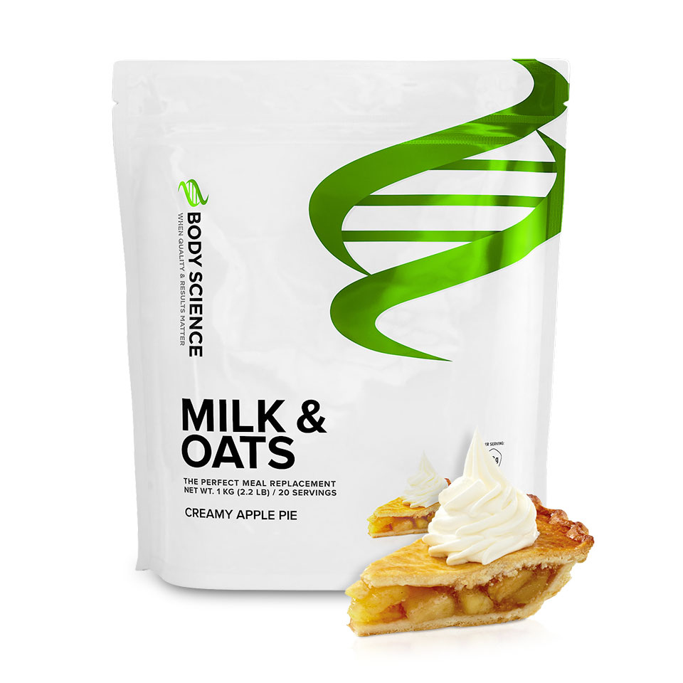 Body Science Milk & Oats Creamy Apple Pie måltidsersättare