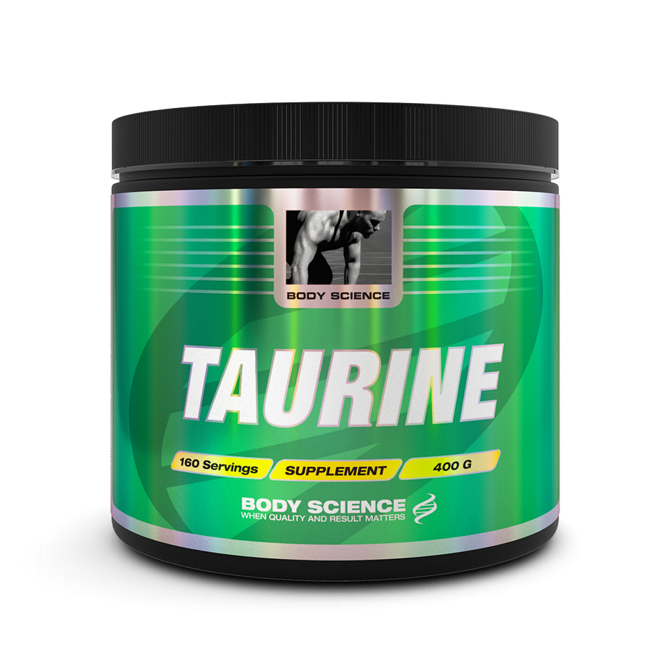 Taurin från Body Science, 400 gram – Aminosyror - Body Science