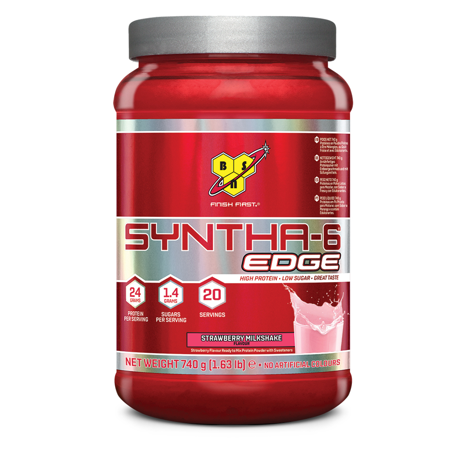 BSN Syntha-6 Edge 20 portioner Strawberry Milkshake - BSN