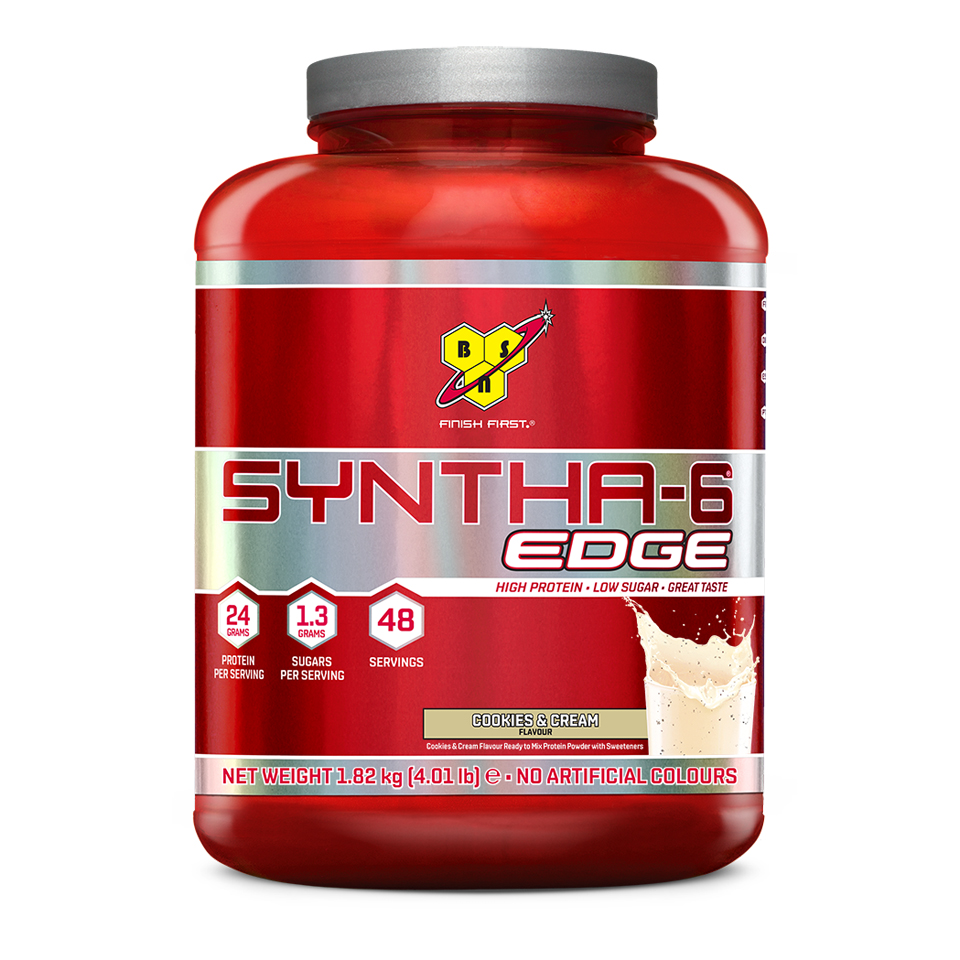 BSN Syntha-6 Edge 48 portioner Cookies & Cream - BSN