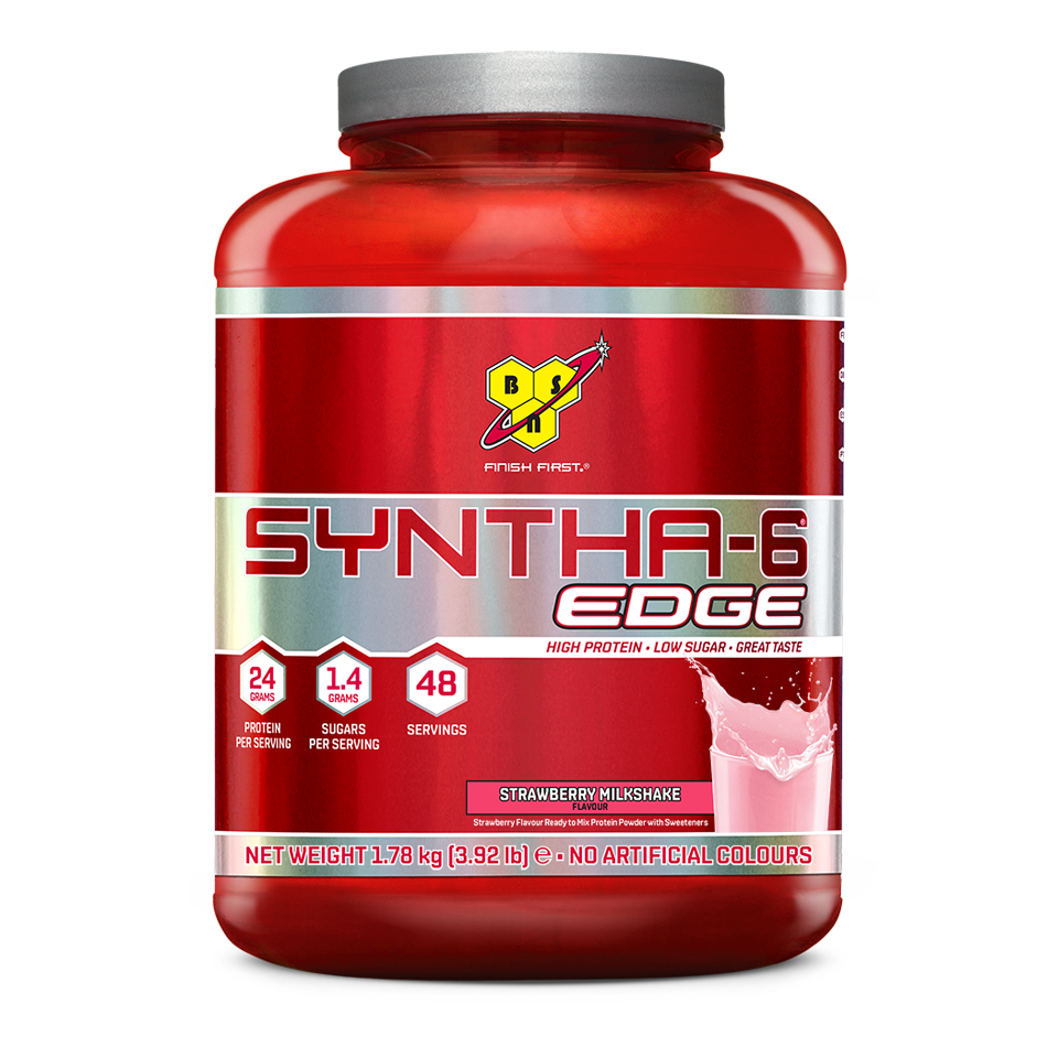 BSN Syntha-6 Edge 48 portioner Strawberry Milkshake - BSN