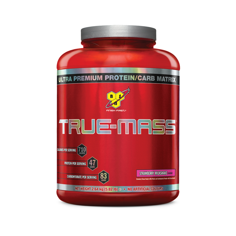 BSN True-Mass Strawberry Milkshake - BSN