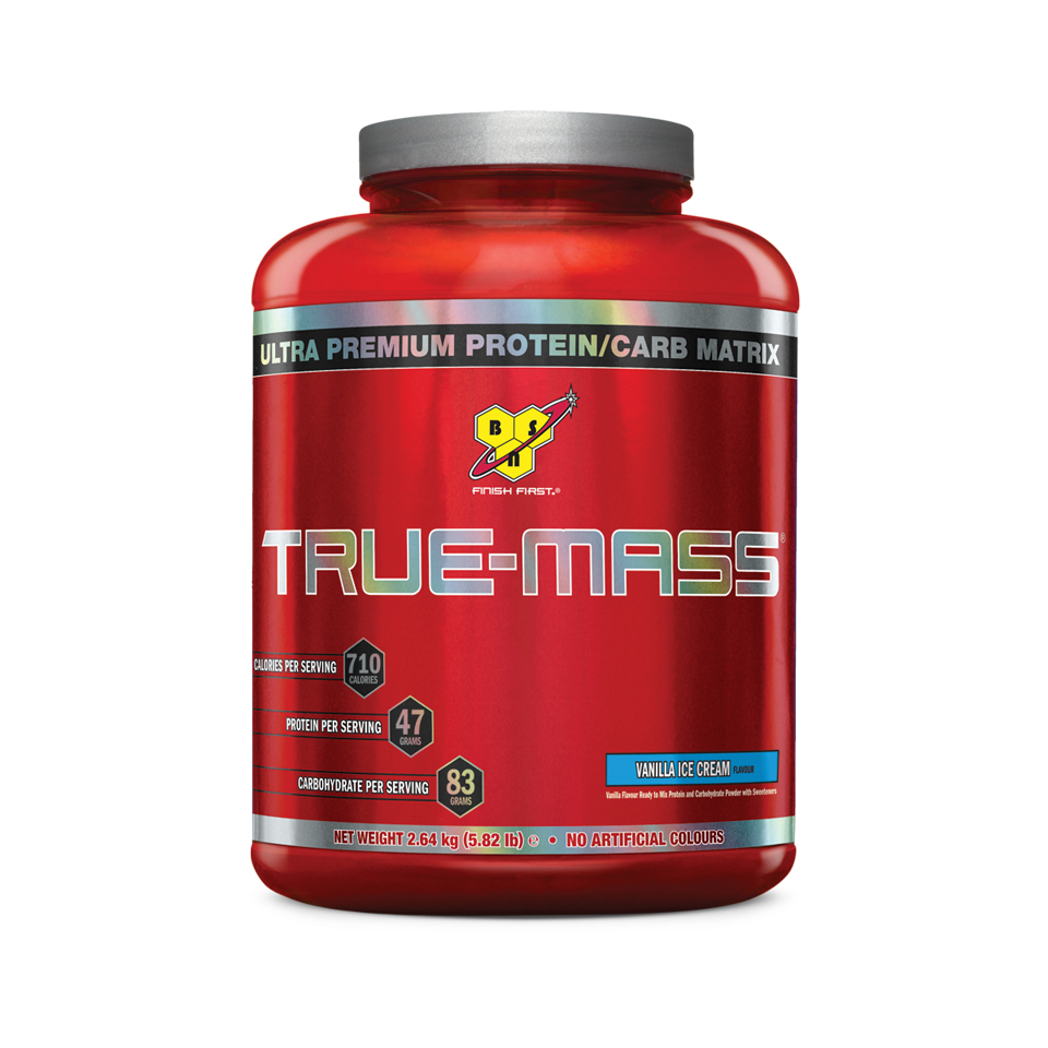 BSN True-Mass Vanilla Ice Cream - BSN