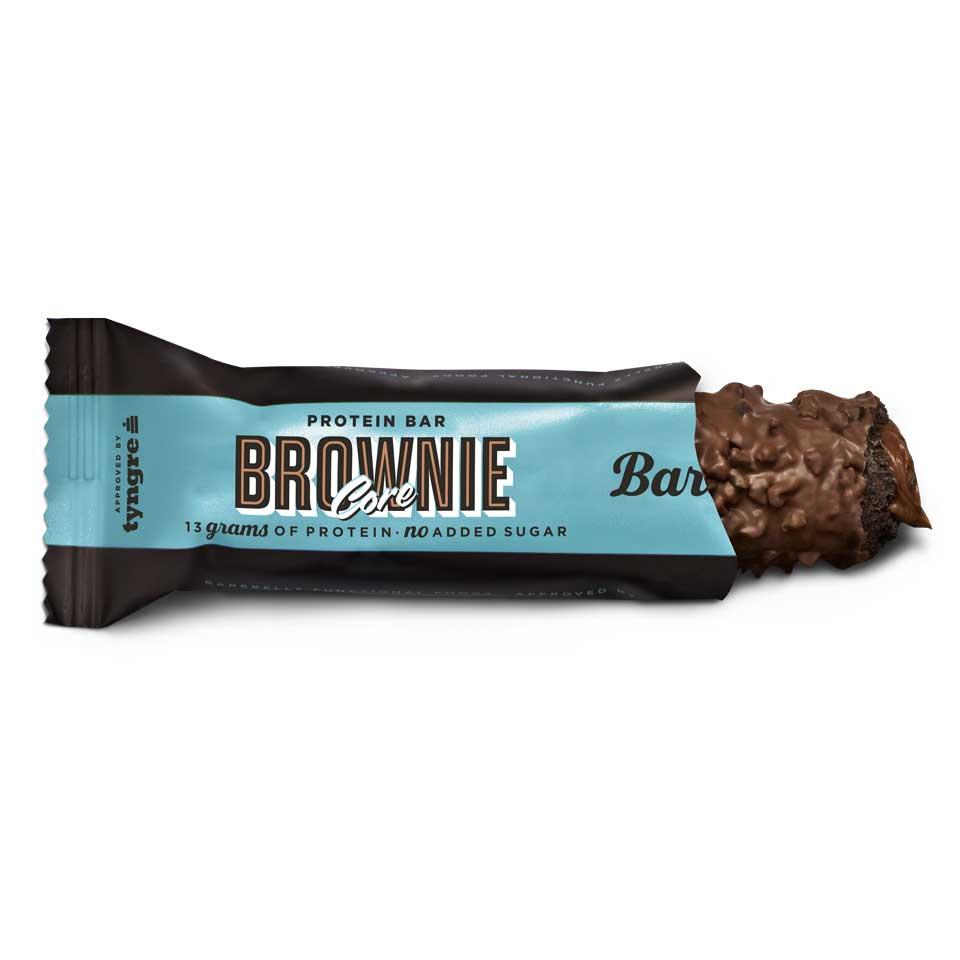 Barebells Corebar Brownie öppnad