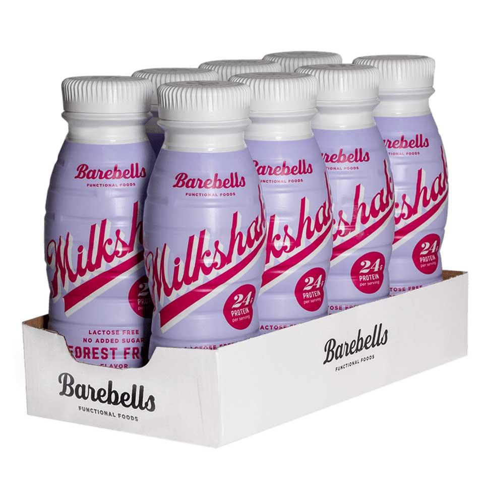 8 stycken Barebells Milkshake Forest Fruit