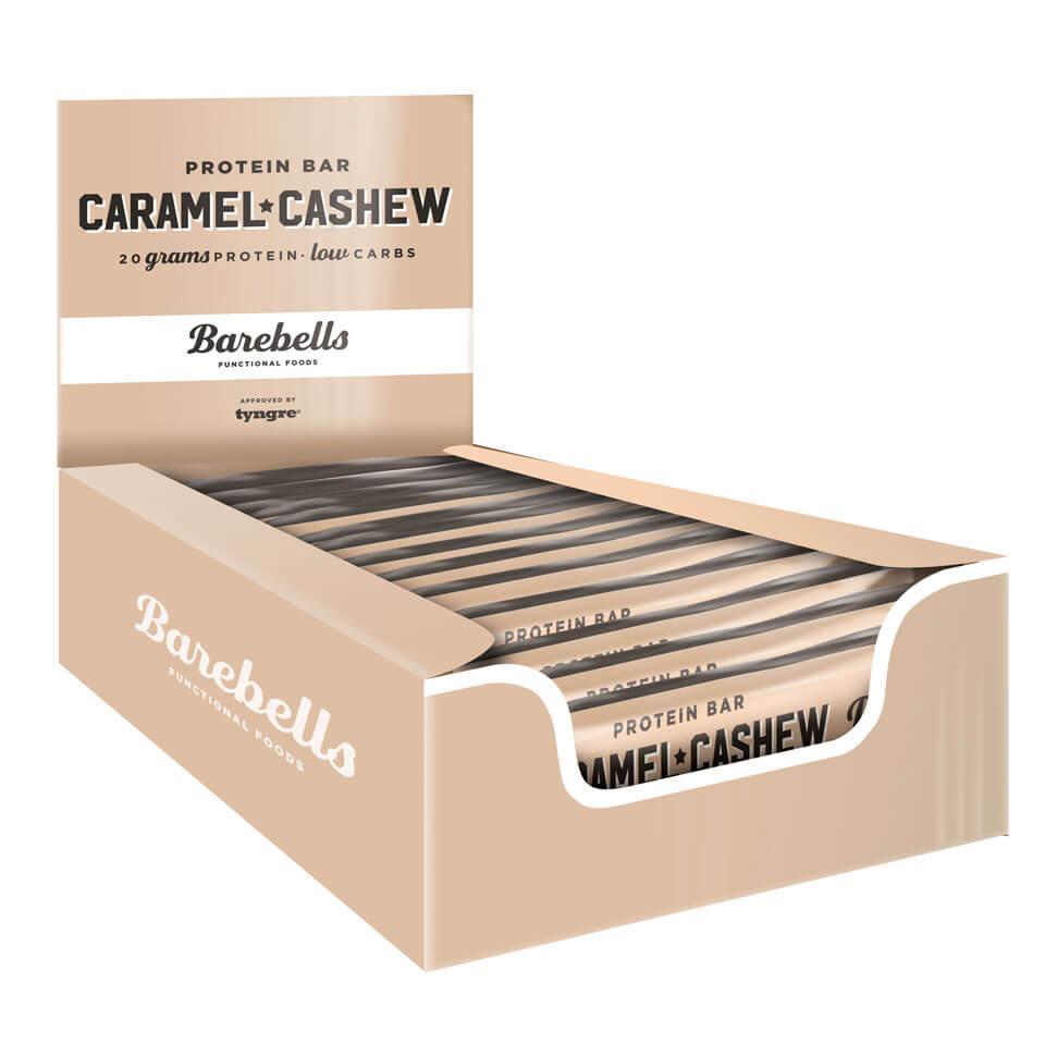 Barebells Protein Bar - 12st hel låda Caramel Cashew