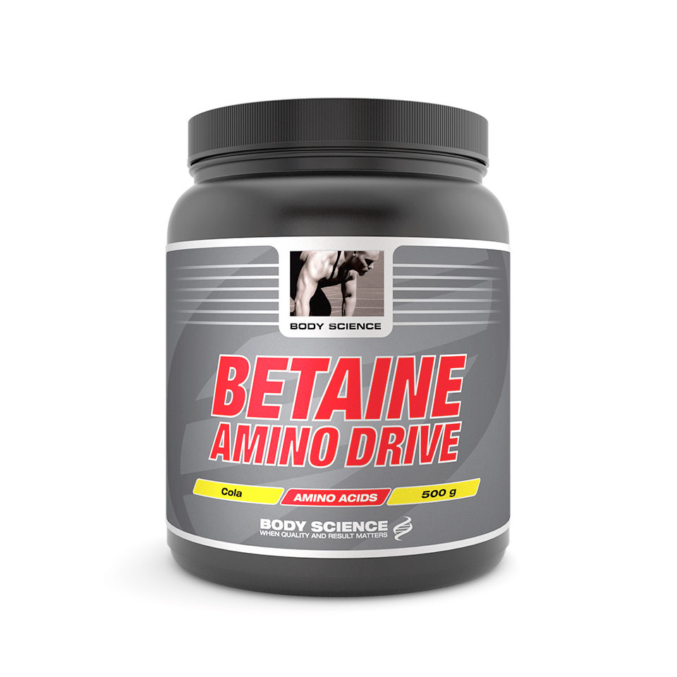 Body Science Betaine Amino Drive 500 gram Cola - Body Science