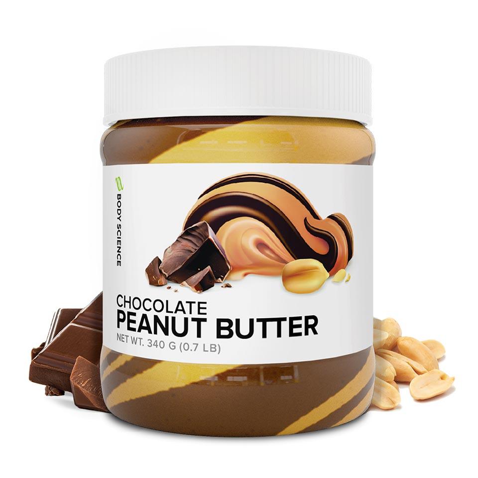 body science chocolate & peanut butter swirl