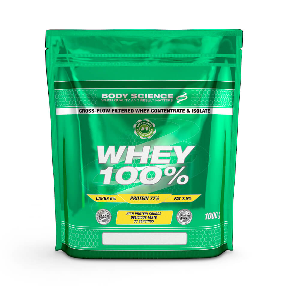 Body Science Whey 100% Strawberry