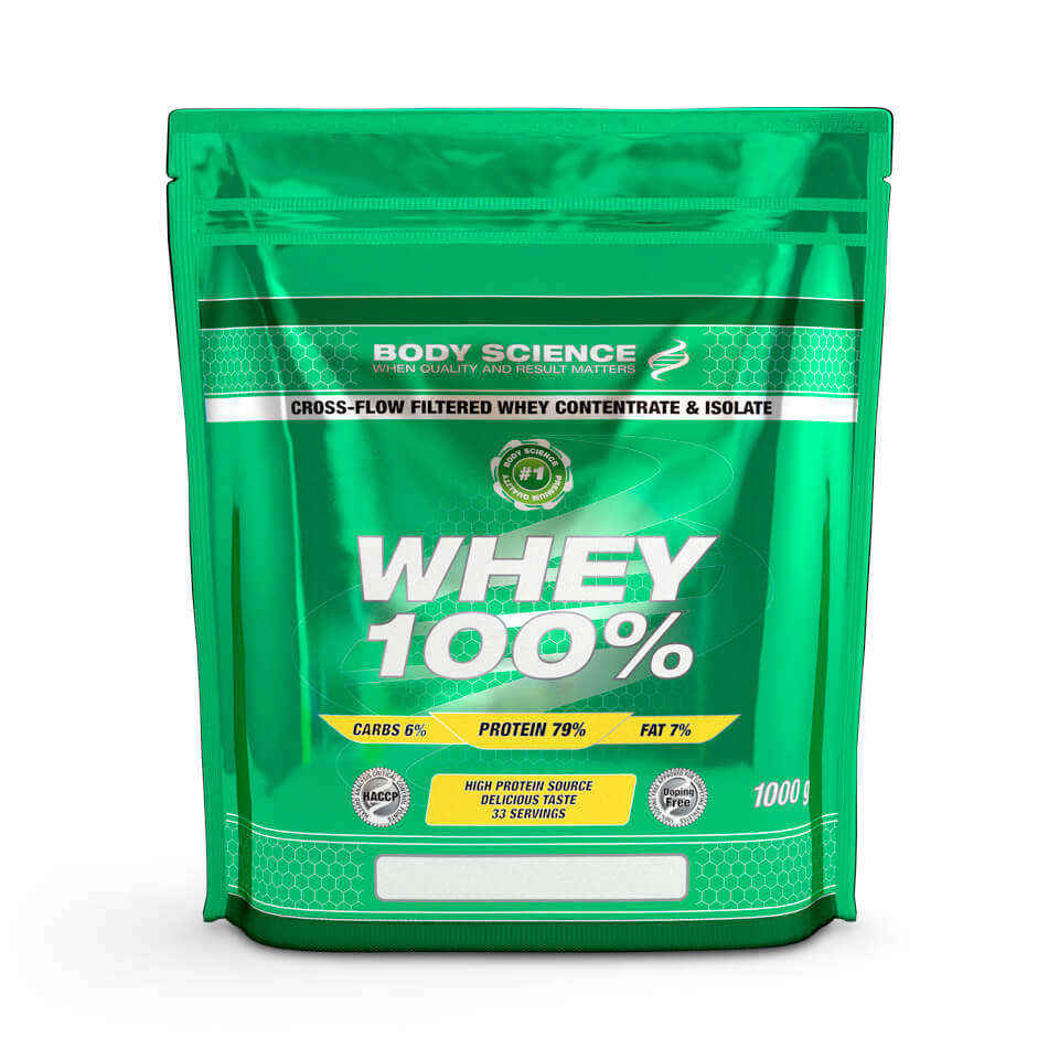 Body Science Whey 100% Päronsplitt