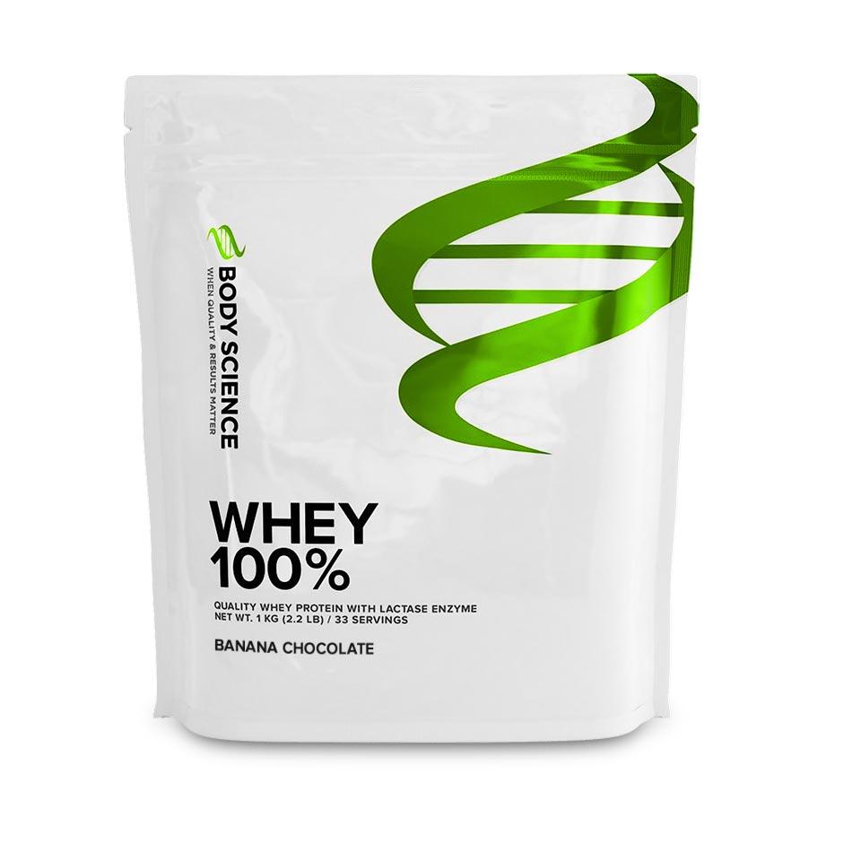 Body Science Whey 100% Banana Chocolate