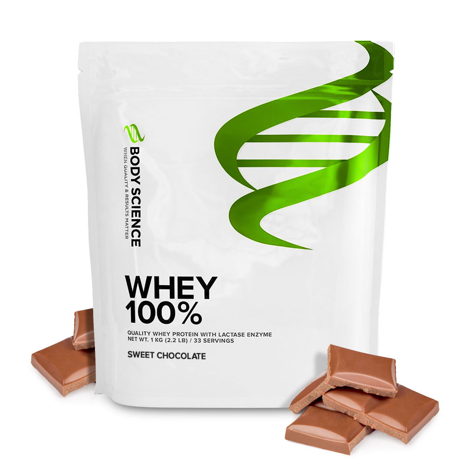 body science whey 100 smak