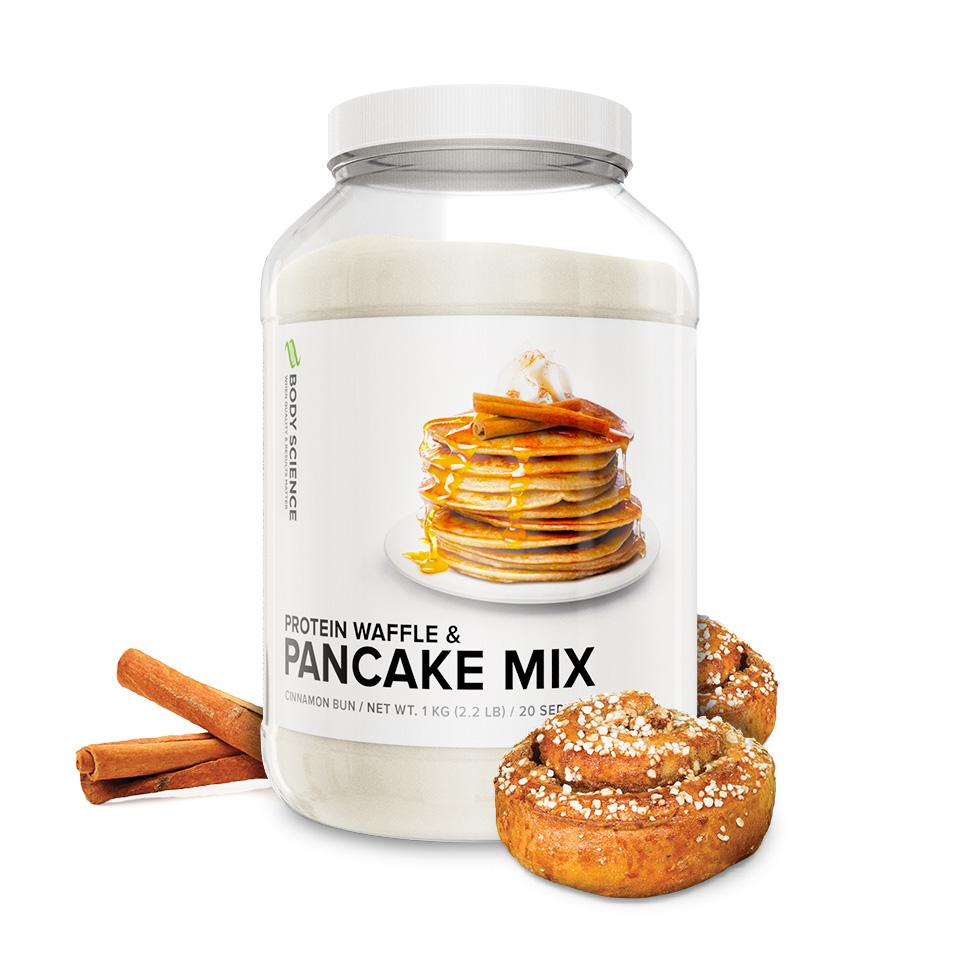 Body Science Protein Pancake Mix Kanelbulle