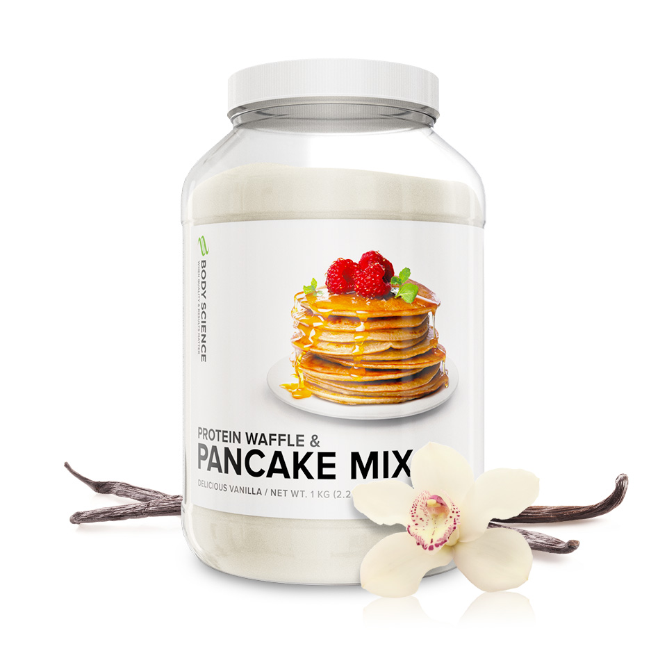 Body Science Protein Pancake Mix Vanilj proteinpannkakor