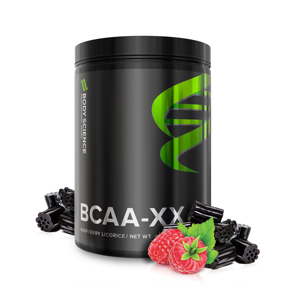 Body Science BCAA-XX Hallonlakrits