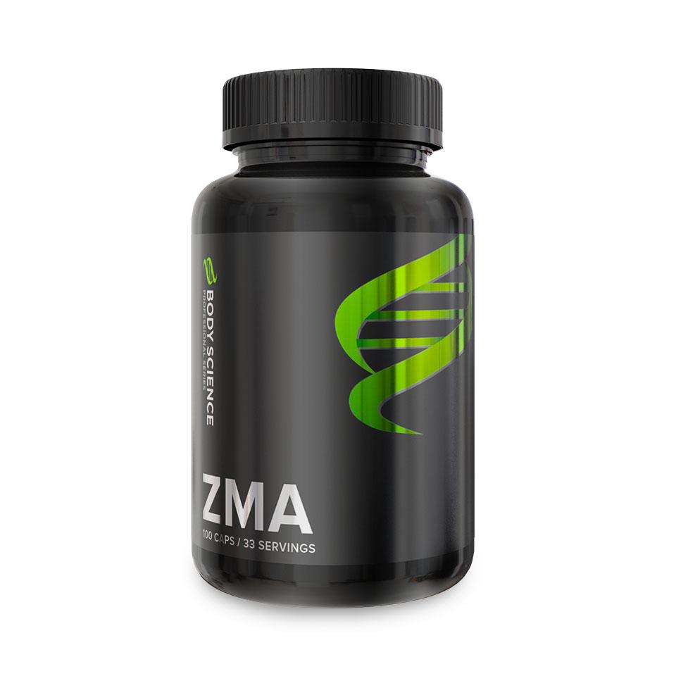 En burk Body Science ZMA