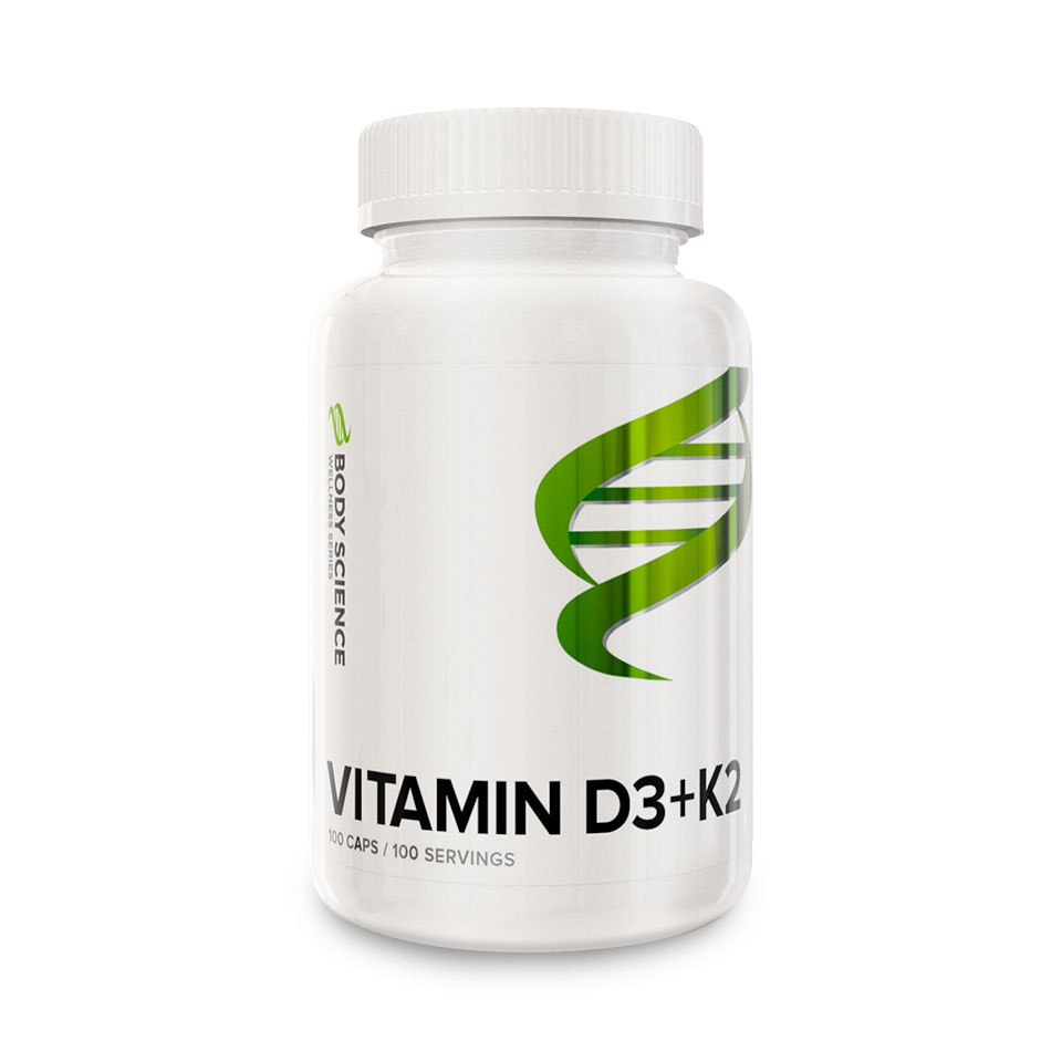 Body Science Wellness Vitamin D3+K2