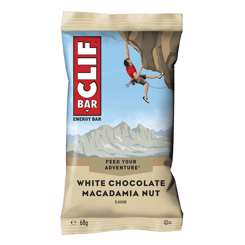 CLIF BAR 68 gram White Chocolate Macadamia - CLIF BAR