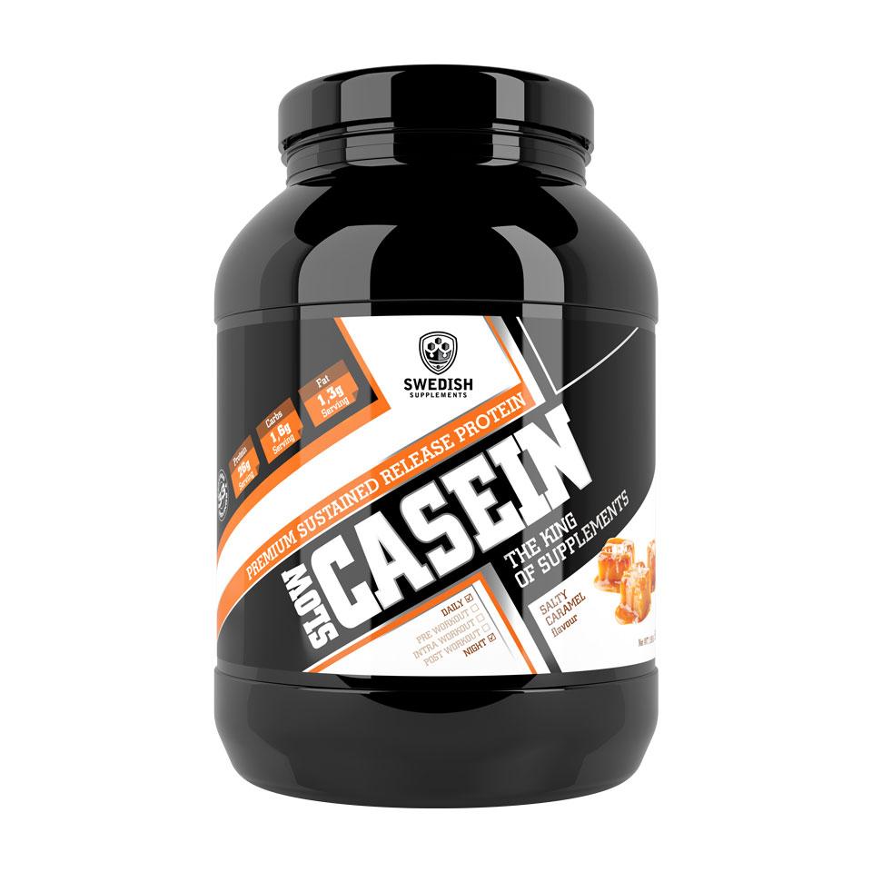 Swedish Supplements Slow Casein 900 gram Salty Caramel - Swedish Supplements