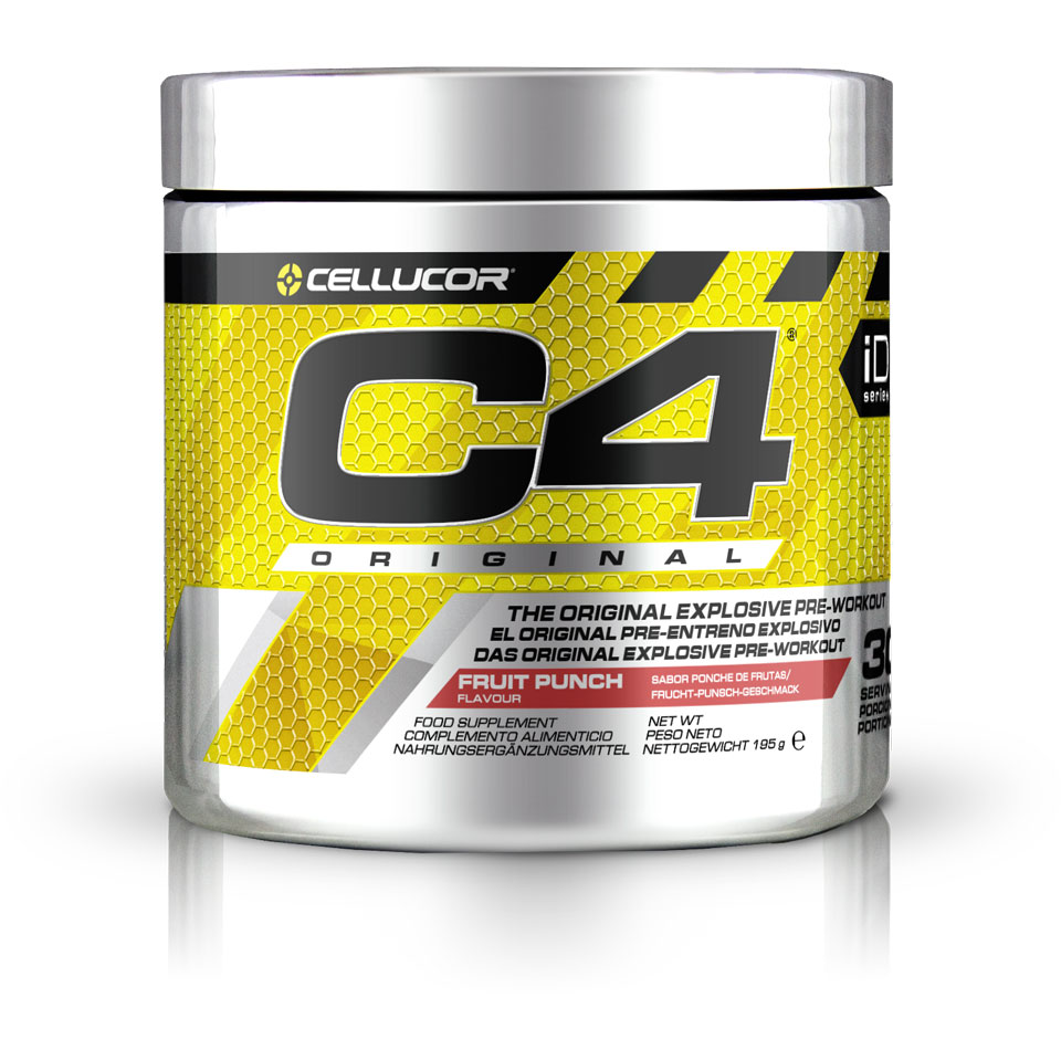 Cellucor C4 Original 30 servings Fruit Punch - Cellucor