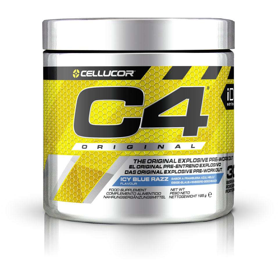 Cellucor C4 Original 30 servings Blue Razz - Cellucor