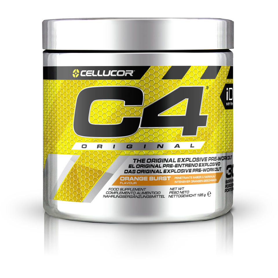Cellucor C4 Original 30 servings Orange Burst - Cellucor