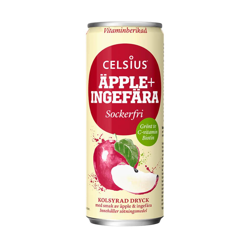 Celsius Äpple/Ingefära