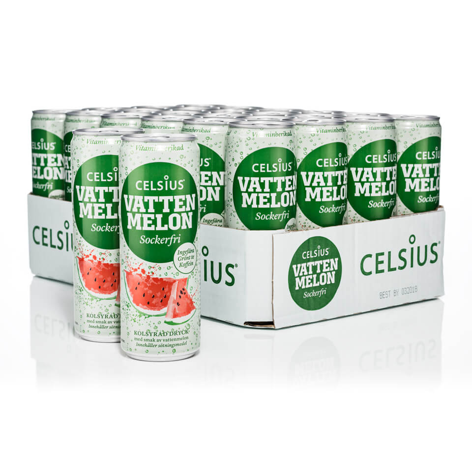 Celsius Flak 24-pack Vattenmelon