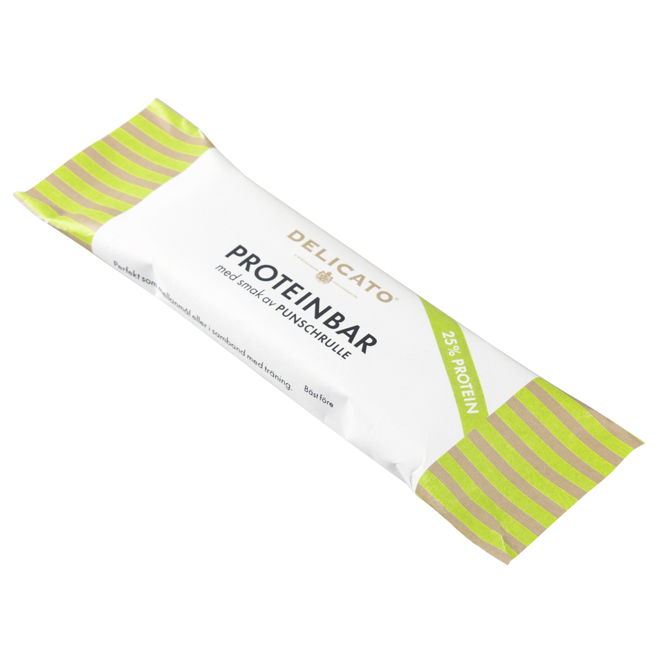 Delicato Proteinbar Punschrulle - Delicato