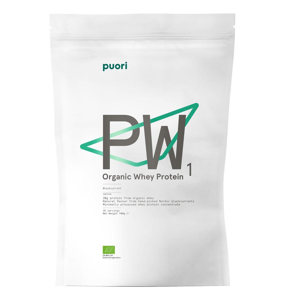 Puori Organic Whey 900 gram Black Currant - Puori