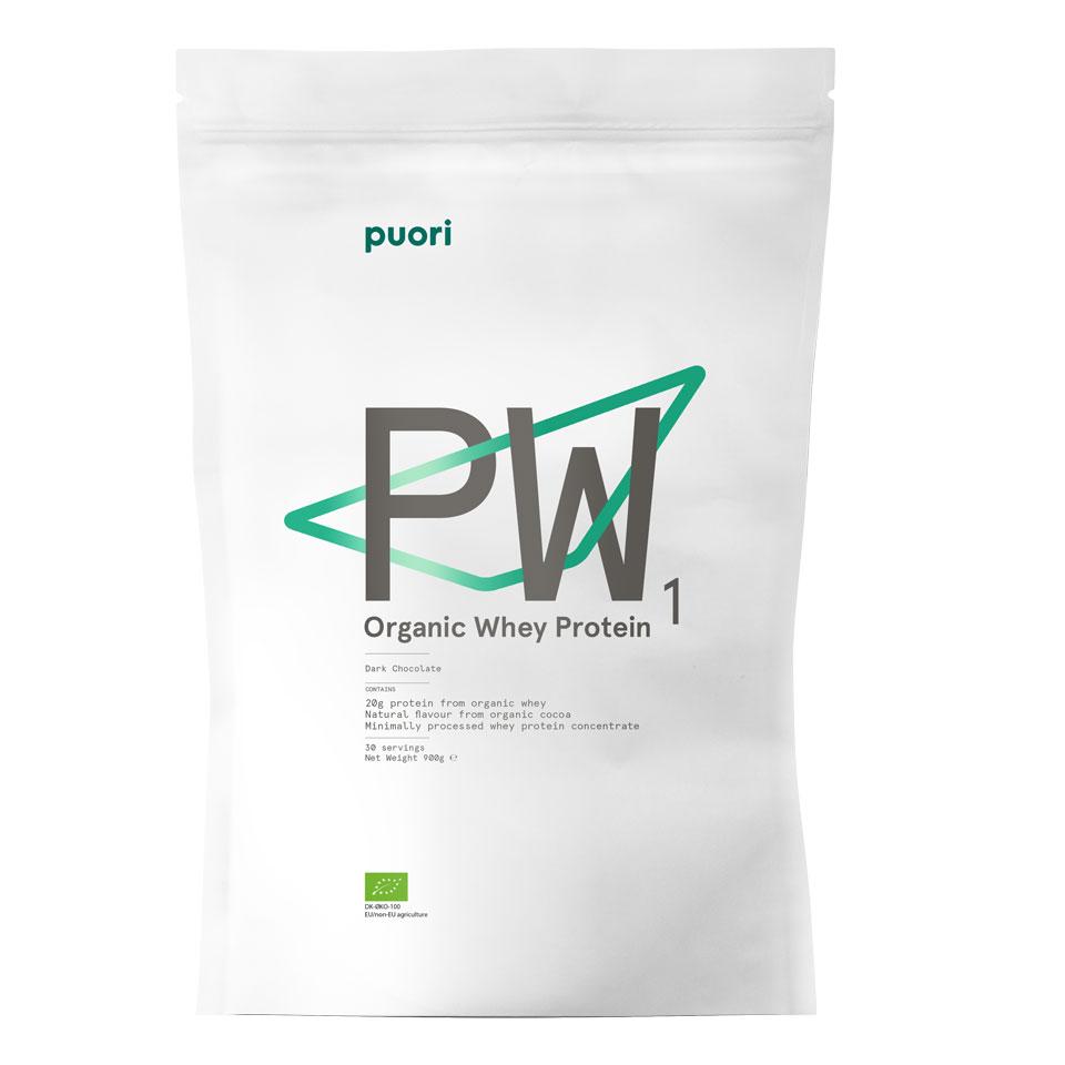 Puori Organic Whey 900 gram Dark Chocolate - Puori