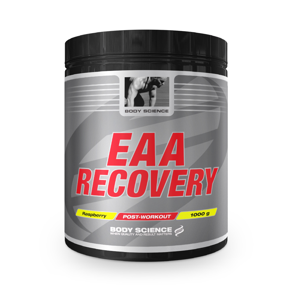 Body Science EAA Recovery Raspberry 1000 gram (14 portioner) - Body Science