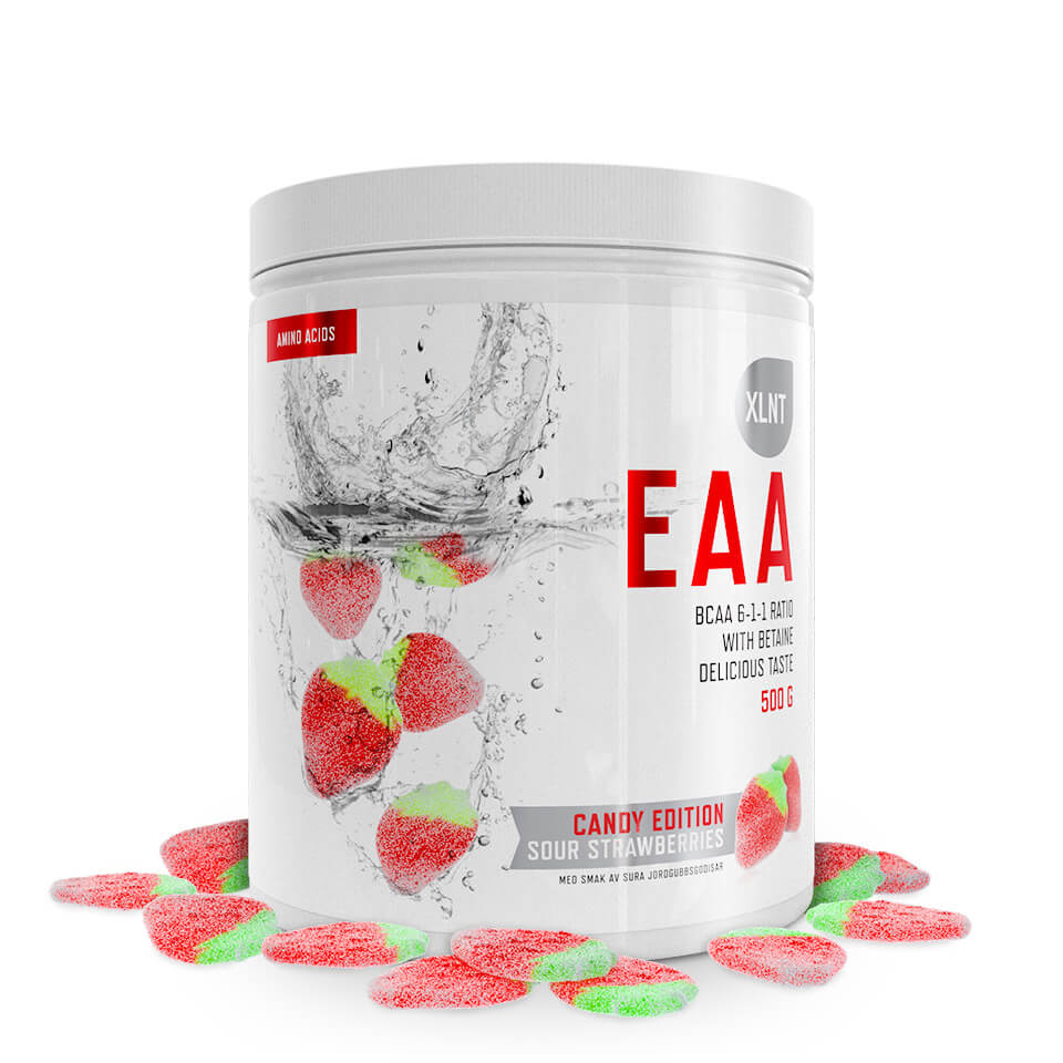 XLNT Sports EAA Sour Strawberries