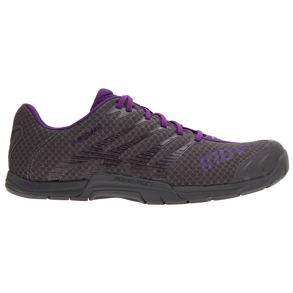 Inov-8 F-lite 235 Dam 37 Grey/Purple - Inov-8