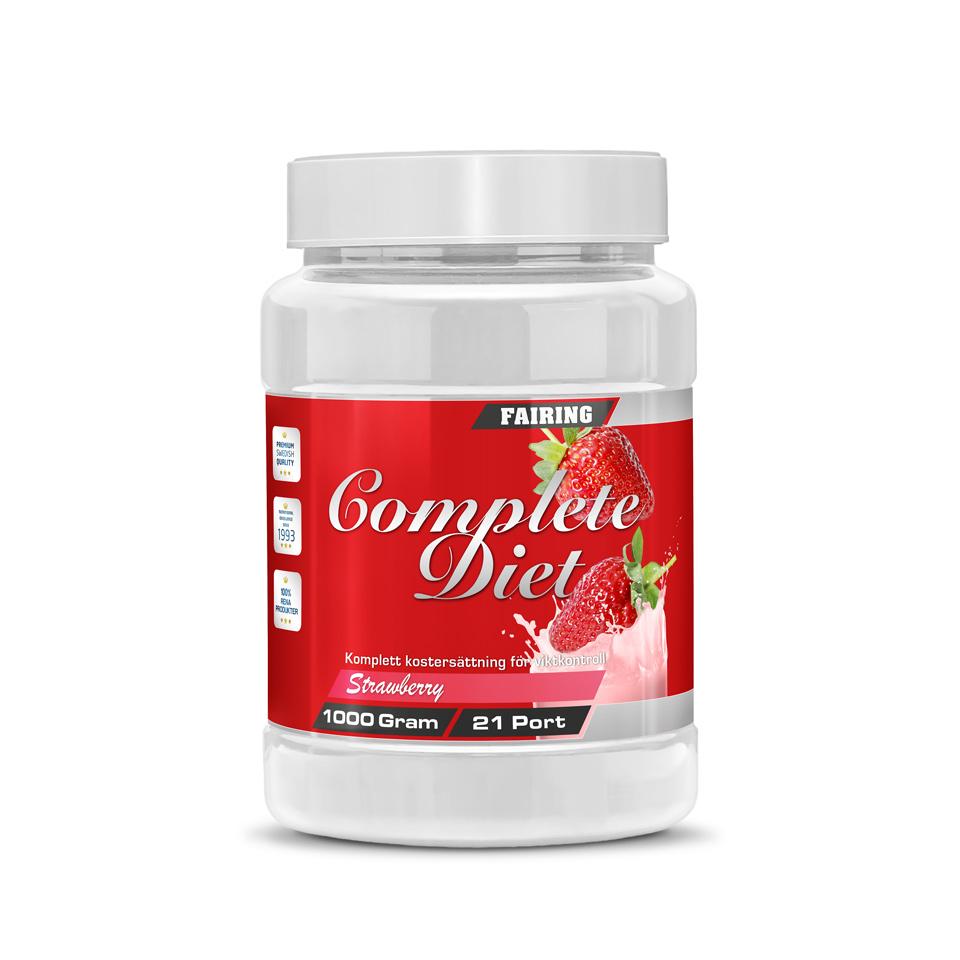Fairing Complete Diet Jordgubb - Fairing
