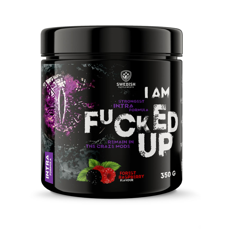 Swedish Supplements Fucked Up Intra 350 gram Forest Raspberry - Swedish Supplements