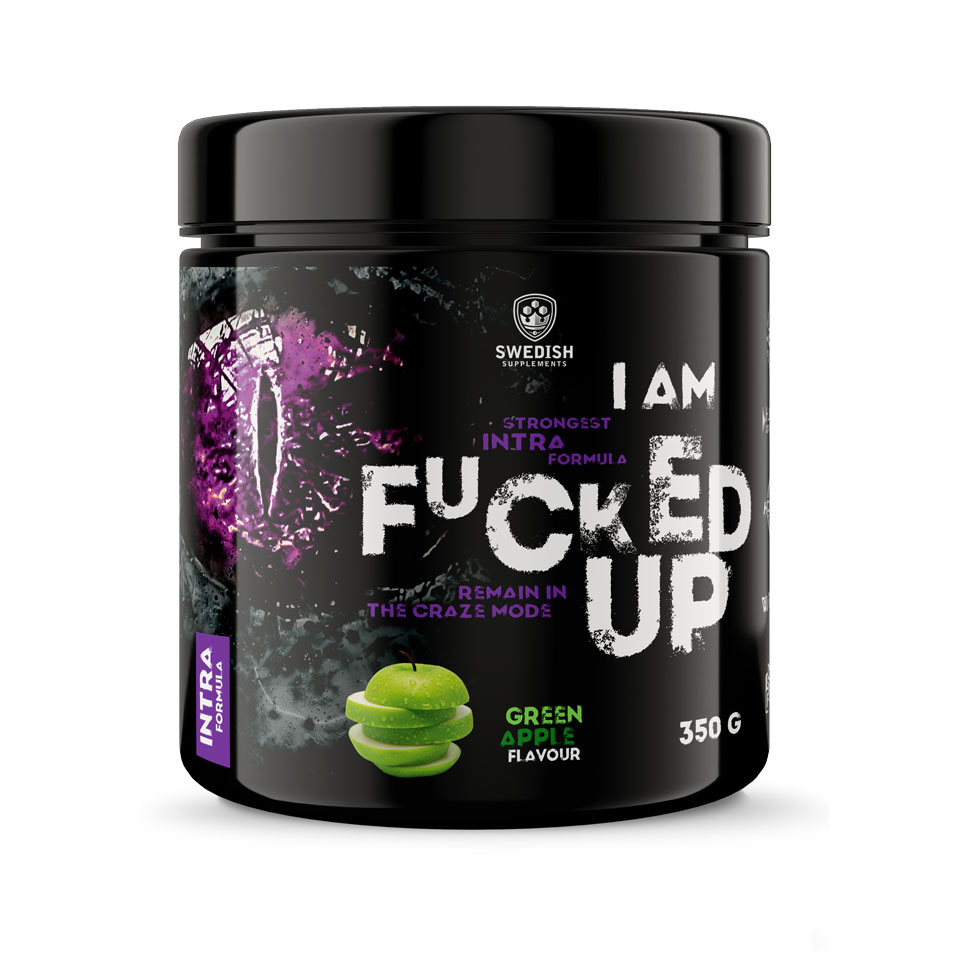 Swedish Supplements Fucked Up Intra 350 gram Green Apple - Swedish Supplements