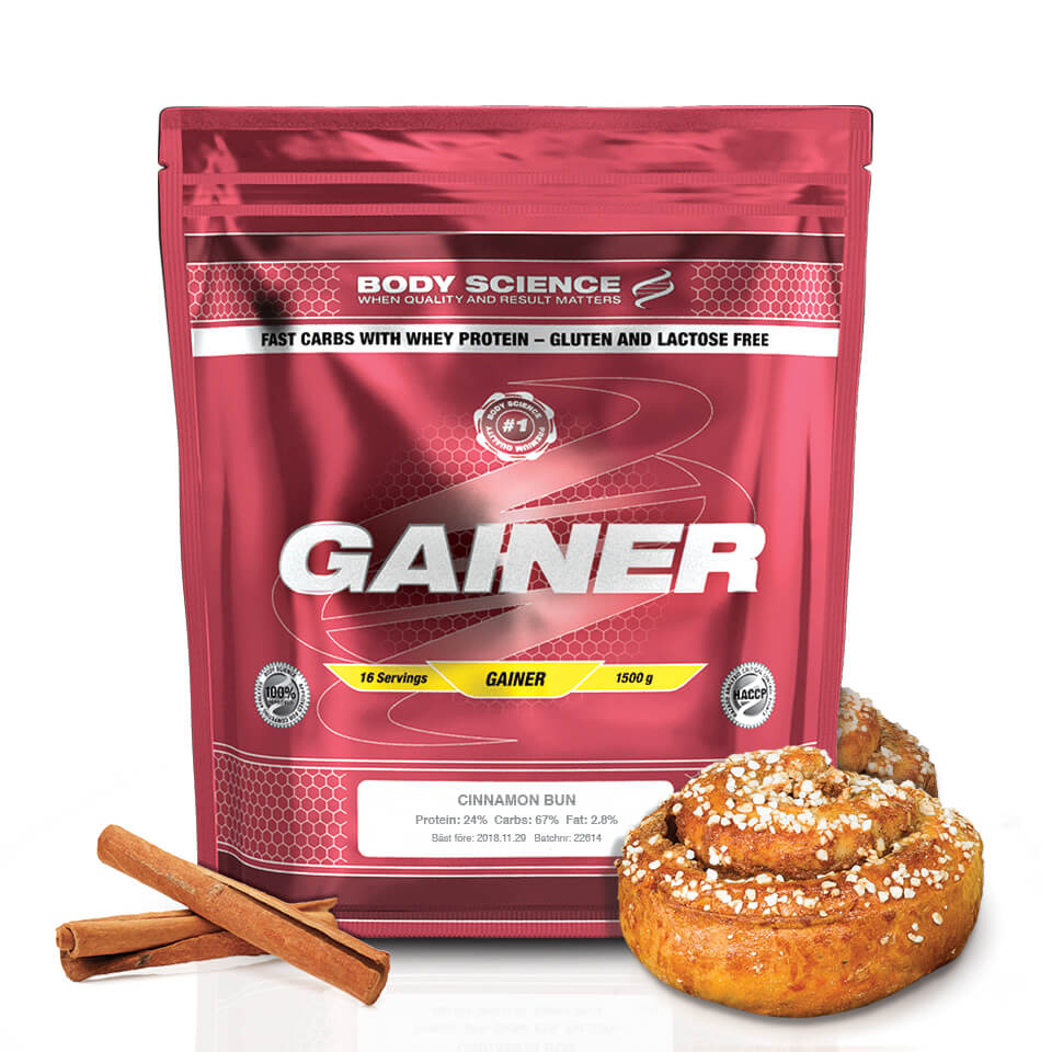 Body Science Gainer Cinnamon Bun 1,5 kg - Body Science