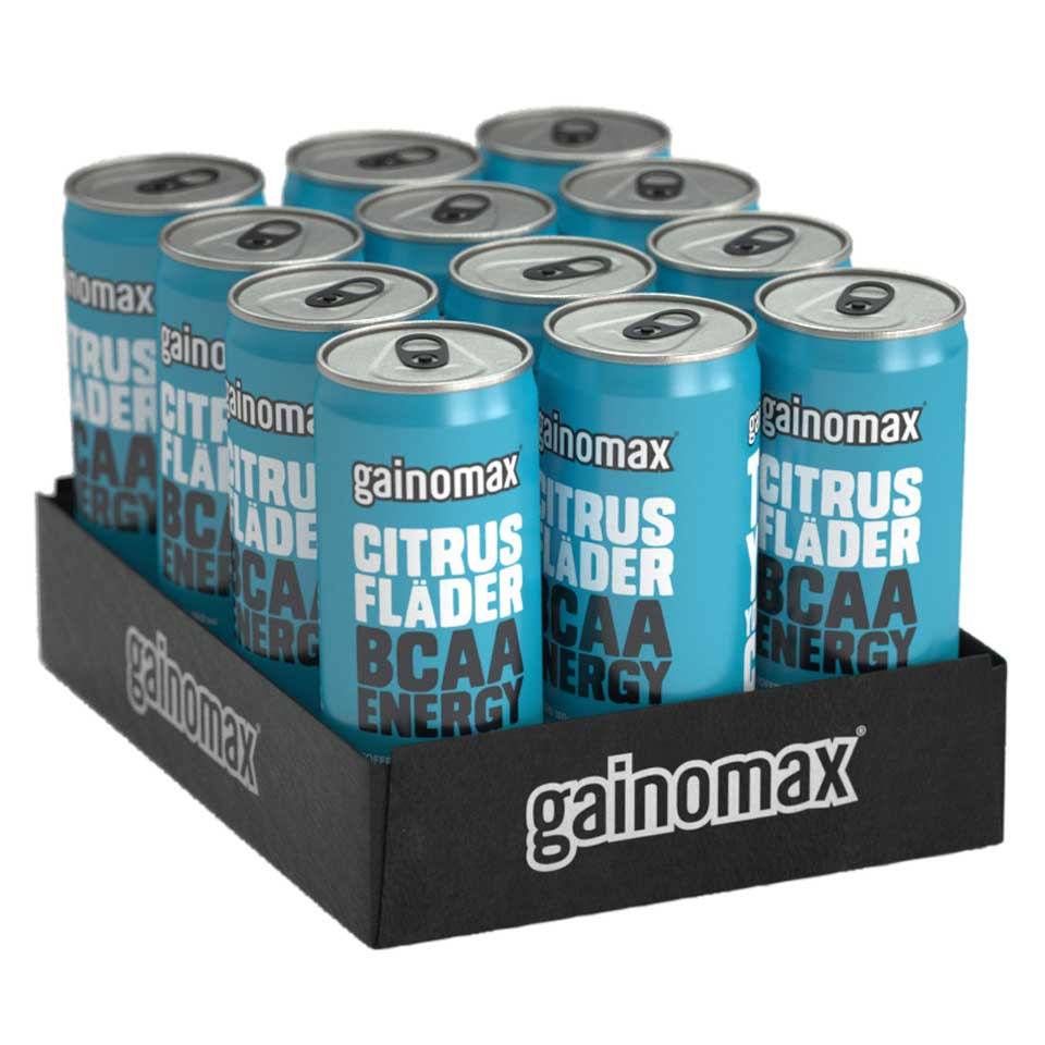 Gainomax BCAA Energy Drink Flak 12-pack