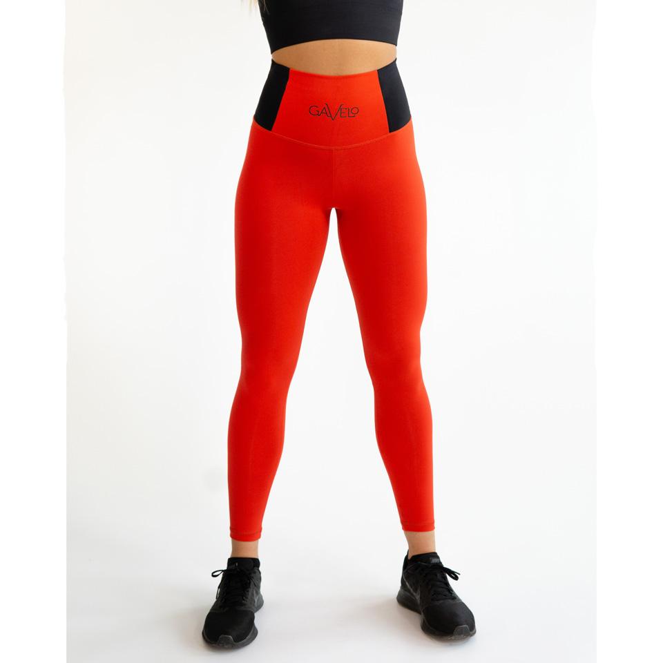 Gavelo Pop Tights Scrunch, Red träningstights