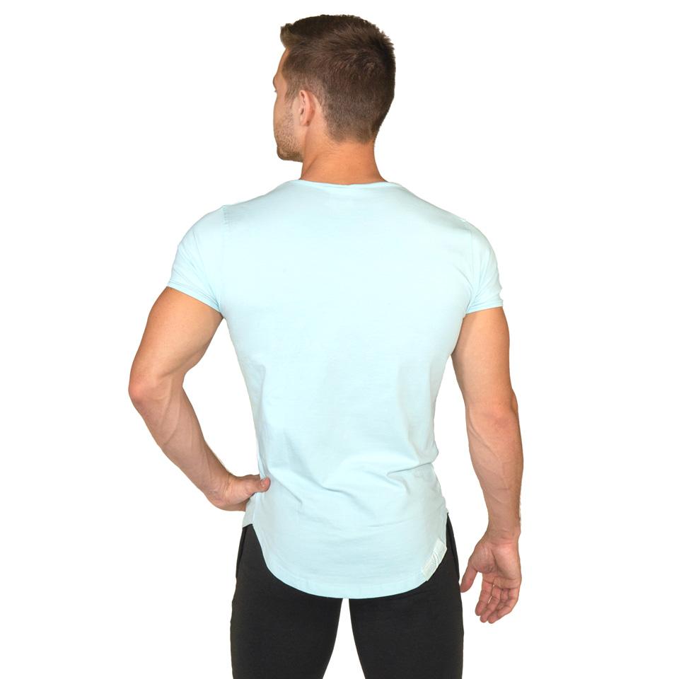 Gavelo Sports Tee Chloride Blue T-Shirt Bakifrån