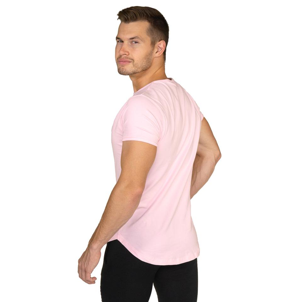 Gavelo Sports Tee Steel Pink T-Shirt Bakifrån