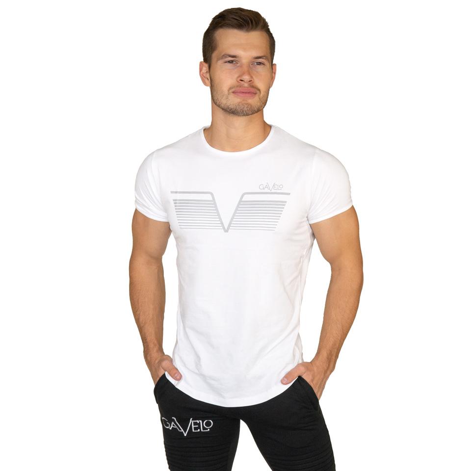 Gavelo Sports Tee White