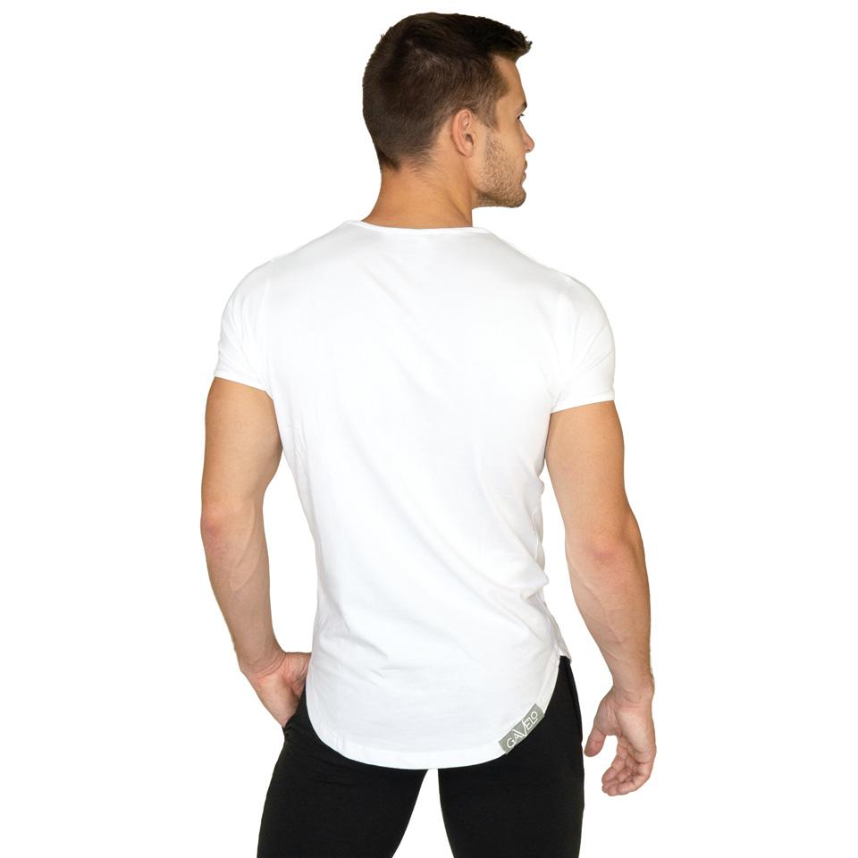 Gavelo Sports Tee White T-shirt Bakifrån