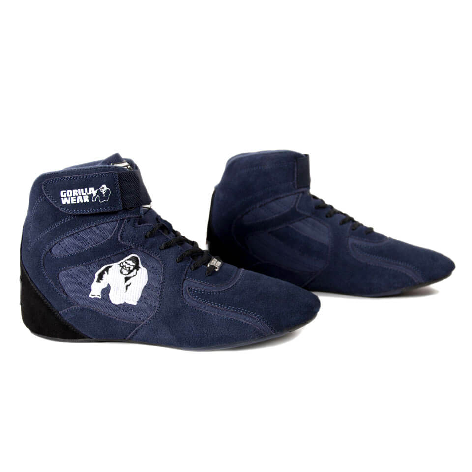 Gorilla Wear Chicago High Tops 41 Navy - Gorilla Wear