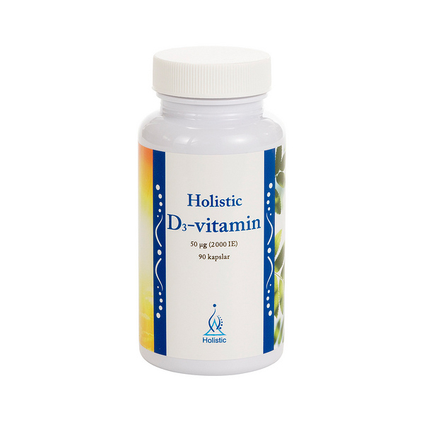 Holistic D3-Vitamin 90 kapslar - Holistic