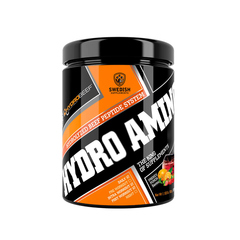 Swedish Supplements Hydro Amino Peptid 500 gram Frenzy Punch - Swedish Supplements
