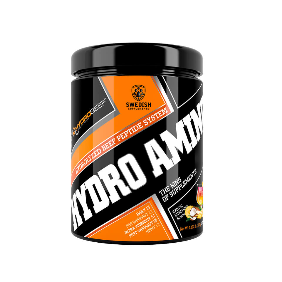 Swedish Supplements Hydro Amino Peptid 500 gram Exotic Sunshine - Swedish Supplements