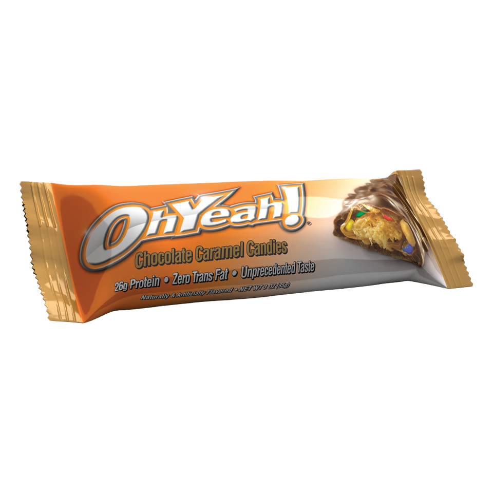 ISS OhYeah! Original Bar  Chocolate Caramel Candy - ISS